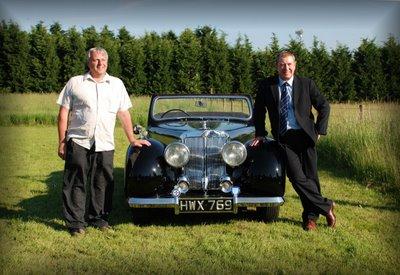 John Nettles Wedding Car Meets Sergeant Bergerac - Car meets near me